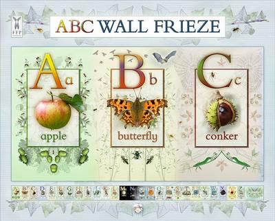 ABC Wall Frieze by Caz Buckingham, Andrea Pinnington