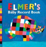Elmer Baby Record Book by David Mckee