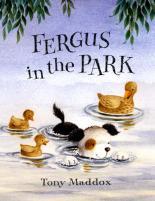 Fergus in the Park by Tony Maddox