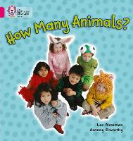 How Many Animals Band 01a/Pink a by Lee Newman