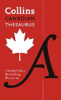 Collins Canadian Thesaurus by Collins Dictionaries