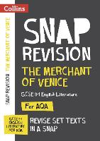 The Merchant of Venice: AQA GCSE English Literature Text Guide by Collins GCSE