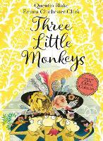 Three Little Monkeys Book & CD by Quentin Blake