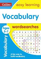 Vocabulary Word Searches Ages 5-7 by Collins Easy Learning