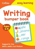 Writing Bumper Book Ages 3-5 by Collins Easy Learning
