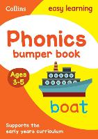 Phonics Bumper Book Ages 3-5 by Collins Easy Learning