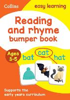 Reading and Rhyme Bumper Book Ages 3-5 by Collins Easy Learning
