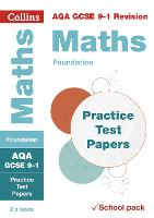 AQA GCSE Maths Foundation Practice Test Papers by Collins GCSE
