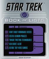 Star Trek: The Book of Lists by Chip Carter