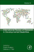 International Review of Research in Developmental Disabilities by Robert M. (Vanderbilt University, Nashville, Tennessee, USA) Hodapp
