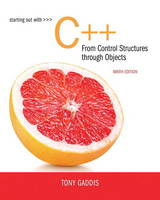 Starting Out with C++ from Control Structures to Objects by Tony Gaddis