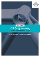 iOS Programming The Big Nerd Ranch Guide by Christian Keur, Aaron Hillegass