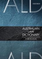 Australian Law Dictionary by Trischa Mann