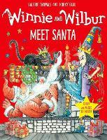 Winnie and Wilbur Meet Santa with audio CD by Valerie Thomas