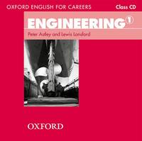 Oxford English for Careers: Engineering 1: Class Audio CD by