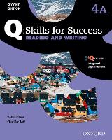 Q Skills for Success: Level 4: Reading & Writing Split Student Book A with iQ Online by