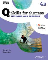 Q Skills for Success: Level 4: Listening & Speaking Split Student Book B with iQ Online by