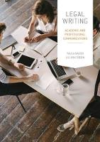 Legal Writing Academic and Professional Communication by Paula (Professor and Chair of Common Law, La Trobe University) Baron, Lillian (Associate Professor, School of Law, Univ Corbin