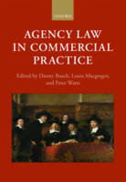 Agency Law in Commercial Practice by Danny Busch