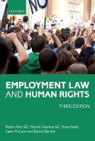 Employment Law and Human Rights by Robin (Barrister, Cloisters) Allen QC, Rachel (Barrister, Cloisters) Crasnow QC, Anna (Barrister, Cloisters) Beale, Cla McCann