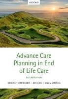 Advance Care Planning in End of Life Care by Keri (Founder and National Clinical Lead, Gold Standards Framework Centre in End of Life Care) Thomas
