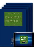 Blackstone's Criminal Practice 2018 (Book, All Supplements and Digital Pack) by Professor David, QC (Barrister, Bencher of Middle Temple, Professor of Criminal Justice, Queen Mary, University of Lon Ormerod