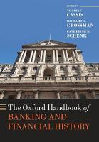 The Oxford Handbook of Banking and Financial History by Youssef (Professor of Economic History, European University Institute) Cassis