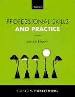 BCU: Professional Skills and Practice by Custom Publication
