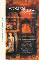 Women and Law in India by Flavia Agnes, Sudhir Chandra, Monmayee Basu