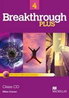 Breakthrough Plus 4 Class Audio CDs (2) by Miles Craven