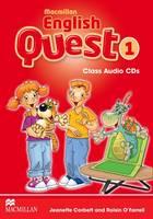 Macmillan English Quest Level 1: Class Audio CD by Jeanette Corbett, Roisin O'Farrell