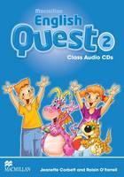Macmillan English Quest Level 2: Class Audio CDs by Jeanette Corbett, Roisin O'Farrell