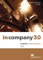In Company 3.0 Starter Level Class Audio CD by Edward de Chazal