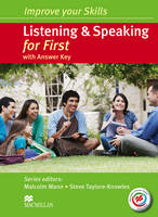 Improve your Skills: Listening & Speaking for First Student's Book with key & MPO Pack by Malcolm Mann