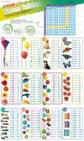 DKfindout! Times Tables Poster by DK