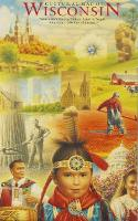 Cultural Map of Wisconsin A Cartographic Portrait of the State by David Woodard