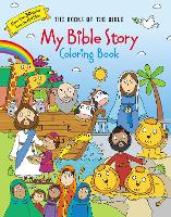 My Bible Story Coloring Book The Books of the Bible by Zondervan