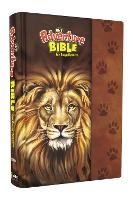 NIrV Adventure Bible for Early Readers, Hardcover, Full Color Interior, Lion by Zonderkidz