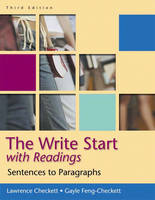 The Write Start Sentences to Paragraphs, with Readings by Lawrence Checkett, Gayle Feng-Checkett
