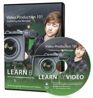 Video Production 101 Learn by Video: Delivering the Message by Antonio Manriquez, Thomas McCluskey