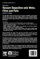 Vacuum Deposition onto Webs, Films and Foils by Captain Charles Bishop