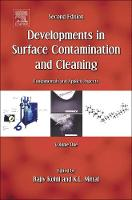 Developments in Surface Contamination and Cleaning, Vol. 1 Fundamentals and Applied Aspects by Rajiv Kohli
