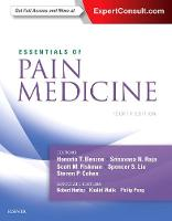 Essentials of Pain Medicine by Honorio T. Benzon, Srinivasa N. Raja, Scott M. Fishman, Spencer Liu