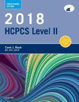 2018 HCPCS Level II Professional Edition by Carol J. Buck