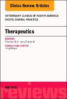 Therapeutics, An Issue of Veterinary Clinics of North America: Exotic Animal Practice by Yvonne R.A., DVM, MVR, PhD, Dip. ECZM (Avian, Small mammal), CPBC van Zeeland