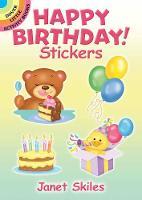 Happy Birthday! Stickers by Janet Skiles
