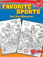 SPARK Favorite Sports Spot-the-Differences by Tony, PhD Tallarico
