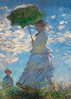 Woman with a Parasol Notebook by Claude Monet