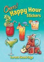 Happy Hour Stickers by Teresa Goodridge