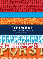 Type Wrap: Typographic Gift Wrapping Paper by Rick Landers